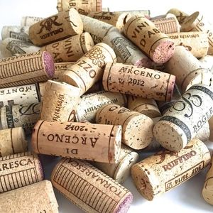 Used Wine Corks 50 Natural Art Craft Project DIY